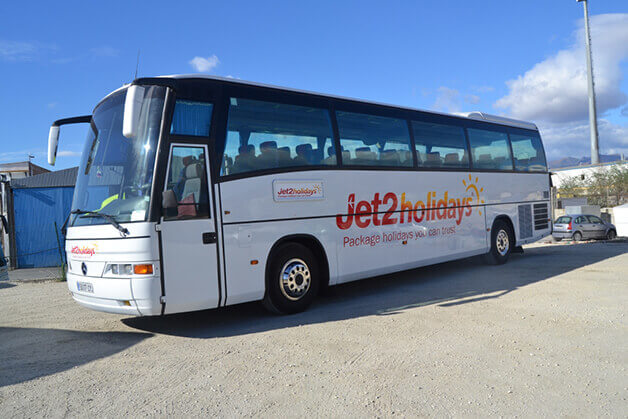 Bus Jet2holidays